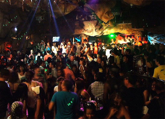 Pubbing and Clubbing along Pattaya Beach Road