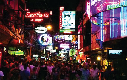 About Walking Street Pattaya