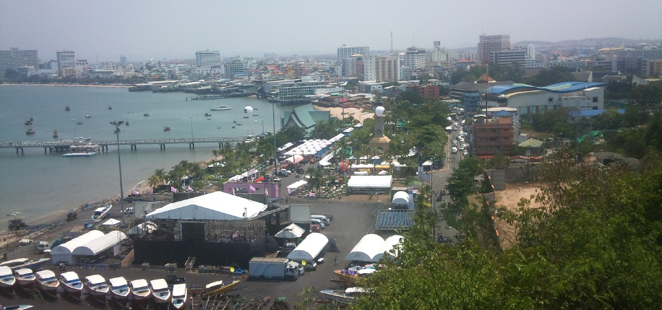Walking Street Pattaya by day