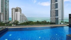 Family size with roof pool at Wong Amat Beach - Condominium -  -