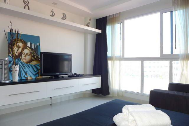 Condominium For Sale South Pattaya looking towards the TV area
