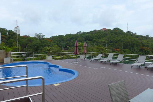 Condominium For Sale Pratumnak showing the rooftop pool