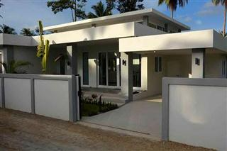 House for sale Pattaya Huay Yai showing the modern house style