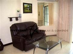 Condominium for rent in Jomtien at View Talay 2A showing the sitting area