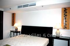 Condominium for rent on Pattaya Beach at NORTHSHORE showing the bedroom