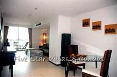 Condominium for rent on Pattaya Beach at NORTHSHORE showing the dining area