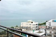 Condominium for rent on Pattaya Beach at NORTHSHORE showing the sea view