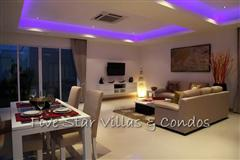Pool villa for sale in Pattaya at The Vineyard Phase 2 showing open plan living