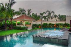 Pool villa for sale in Pattaya at The Vineyard Phase 2 showing the Jacuzzi