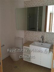 Condominium for rent at Wong Amat Northpoint showing a bathroom