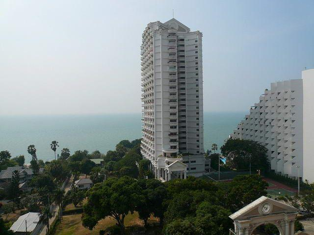 Condominium for sale in Naklua Wong Amat showing the balcony view