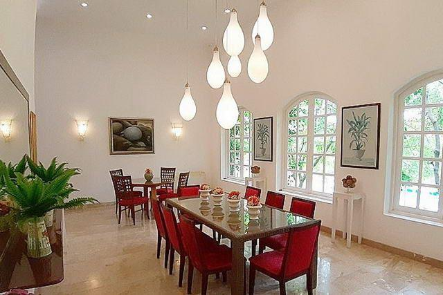 Mediterranean-style resort for sale Silverlake showing the main dining area