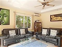 House for rent Pattaya at Siam Royal View showing the living room