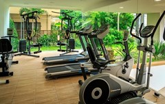 Condominium for sale Pratumnak Hill Pattaya showing the gymnasium