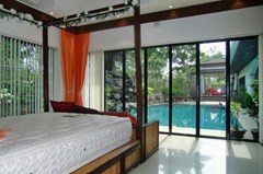 House for rent Jomtien showing the bedroom