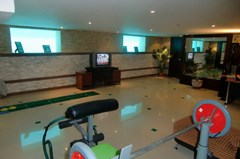 House for rent Jomtien showing the entertainment or multipurpose room