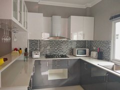 House for sale Bangsaray Pattaya showing the kitchen