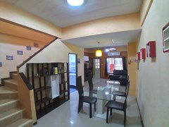 House for sale Pattaya showing the dining area and staircase