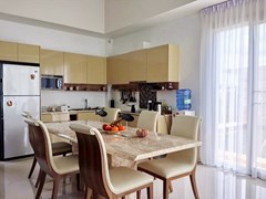 House for Sale Silverlake Pattaya showing the dining kitchen