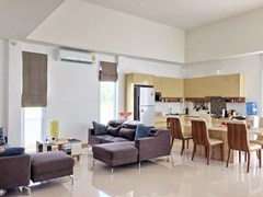House for Sale Silverlake Pattaya showing the open plan concept