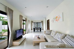 House for rent Pattaya Mabprachan showing the open plan concept