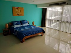 Condominium for rent Jomtien showing the bedroom