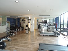 Condominium for rent East Pattaya showing the gymnasium