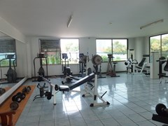 Condominium for sale Jomtien Pattaya showing the gymnasium