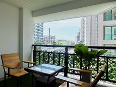 Condominium for sale Pratumnak Hill Pattaya showing the balcony