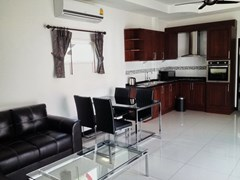 House for rent East Pattaya showing the living, dining and kitchen areas