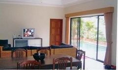 House for rent Jomtien View Talay Villas showing the living and dining areas