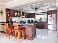 House For Sale Nongpalai Pattaya showing the kitchen and breakfast bar