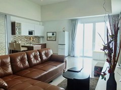 House for Sale Silverlake Pattaya showing the living and kitchen areas