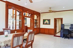 House for sale East Pattaya showing the dining and office areas