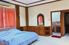 House for sale East Pattaya showing the second bedroom with walk-in wardrobes