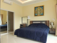 House for Sale East Pattaya showing the master bedroom suite