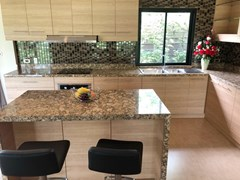 House for sale Huay Yai Pattaya showing the designer kitchen