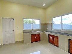 House for sale Mabprachan Pattaya showing the kitchen and utility area