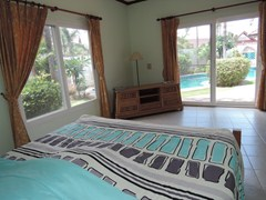 House for rent East Pattaya showing the second master bedroom