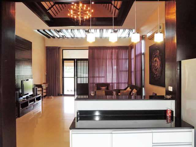 House for sale Pattaya looking from the kitchen