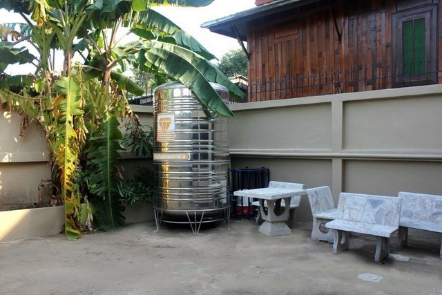 House for sale WongAmat Pattaya showing the terraces