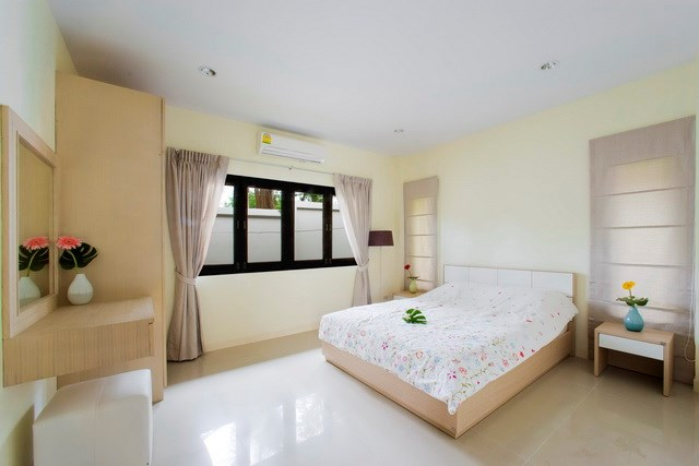 House for rent Pattaya Mabprachan showing the second bedroom