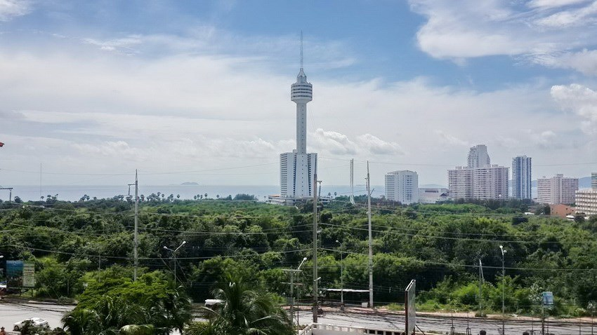 Condominium for sale Jomtien Pattaya showing the  view